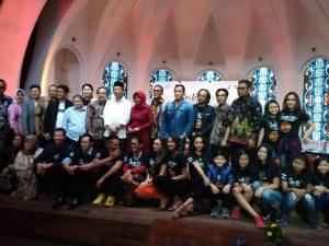 Media Gethring Film Satri, Selasa (26/9/2017) di Jakarta. Foto: Ibra.
