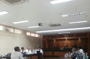 Sidang lanjutan kasus air mineral, Senin (16/10/2017) bertempat di kantor Komisi Pengawas Persaingan Usaha (KPPU) jalan Ir H Juanda no 36 Jakarta Pusat., Foto : ist.