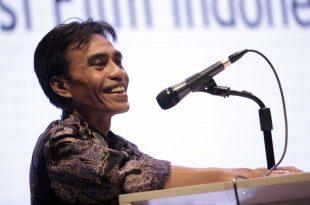Dr. Maman Wijaya, Kepala Pusbang Film Kemendikbud. Foto: Dudut Suhendra Putra.
