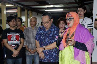Ketua I.Ki saat memberikan sambutannya di Ultah I.Ki ke 2, Jumat (10/11/2017) malam di kediamannya di Jakarta Selatan. Foto: DSP.