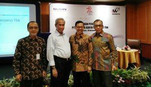 Para pucuk pimpinan  PT. Waskita Karya (Persero) Tbk. Foto: Ibra.