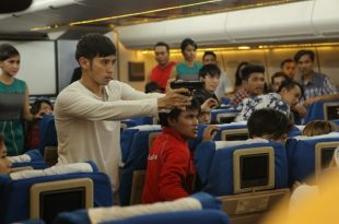 Adegan film Flight 555. Foto: ist.