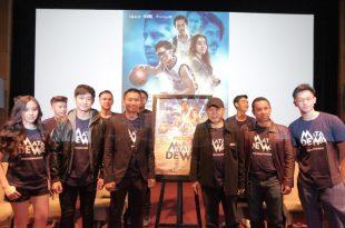 Prescon Film Mata Dewa. Foto: Dudut Suhendra Putra.