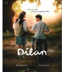 Poster film Dilan 1990. Foto: ist.