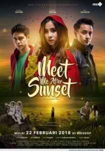 Poster Film Meet Me After Sunset. Foto: Ist.