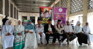 Prescon film Rindu Baitulloh, Minggu (1/4/2018) di Istiqlal, Jakarta. Foto: Ibra.