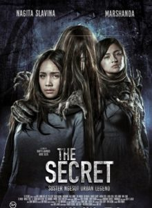 Poster film The Secret- Suster Ngesot Urban Legend. Foto: Ist.