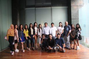 Peserta casting film Abang bersama Produser Imran Hasibuan dan crew film. Foto: Ki2.