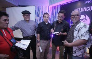 Susana peluncuran buku ketiga Chrisye di Aruba Cafe di Jakarta, Senin (17/9/2018) malam. Foto: Dudut Suhendra Putra.