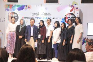 Prescon YCIFI di Fashion Week Jakarta 2019. Foto: ist.