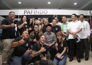 Anggota Pafindo dan Mendikbud Muhadjir Efendi. Foto: Ican.