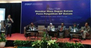 Enny Sri Hartati, Direktur INDEF, Pemerintah Harus Tinjau Ulang Rencana Pengalihan BP Batam ke Pemkot Batam