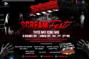 Poster film Horor di TMII. Foto: ist.