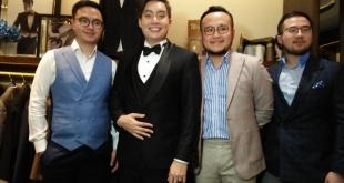 Edrick Tjandra Puas Jas Pengantinya dikerjakan Disainer Samuel Wongso
