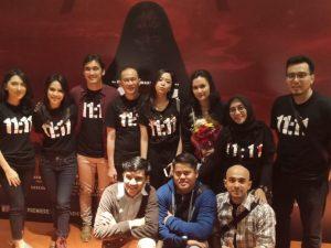 Mereka yang terl;ibat di film 11;11 Apa Yang Kau Lihat? Foto: Dok. Layar Production.