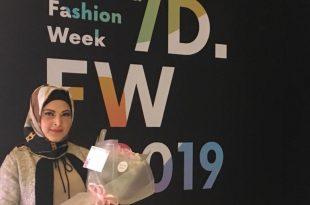 Lea Elfara Sekjend Kadin Fashion Desaigner of Indonesia. Foto: ist.