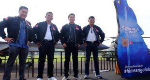 Serigala Langit, Angkat Kisah Heroik Para Prajurit TNI Angkatan Udara ke Film