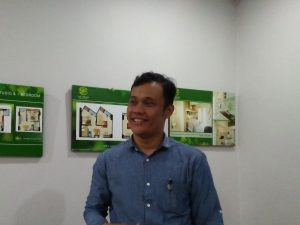 Head Marketing The Spring Residences Ciputat, Adi Putra. Foto: ibra.