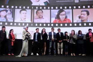 Suasana gala premier film The Lawyers (Pokrol Bambu) . Foto Dudut Suhendra Putra.