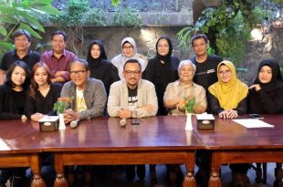 Suasana preskon serial Keluarga Cemara menuju bioskop, Sabtu (1/6/2019). Foto: Dudut Suhendra Putra.
