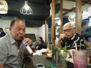 Direktur Operasoinal Grup 21 Jimmy Haryanto (kiri) dan Ketum GPBSI, Djonny Syafrudin, SH . saat memberikan keterangan press disela HBH di Jakarta, Rabu (19/6/2019)Foto: Dudut Suhendra Putra.