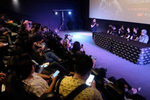 Prescon film Ikut Aku Ke Neraka. Foto: Dudut Suhendra Putra.