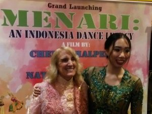 Cheryl Halpern & Natasha Dematra, membangun film Menari mendunia. Foto: ibra.