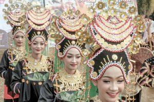 Gadis cantik penari Riau. Foto: Ist.