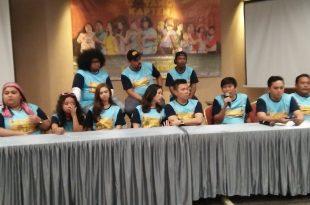 Suasana prescon film Kapal Goyang Kapten. Foto: ibra.
