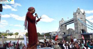 Ayu Azhari Mampu Curi Perhatian Masyarakat di London