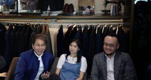 Delon Mengaku Puas Dengan Jas Pengantin Buatan Samuel Wongso dari Wong Hang