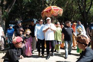 Menpar Arief Yahya di Lombongo. Foto: ist.