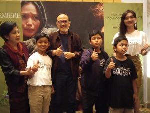 Suasana Prescon film Ku Tak Percaya Kamu Mati. Foto: Dudut Suhendra Putra.