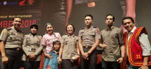 Ayu Azhari, Axel dan mereka yang terlibat di film Sang Prawira. Foto: ist.