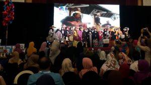Suasana Fashionshow di Johor malaysia. Foto; ist.