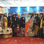 Wakil Indonesia dari KFDI diacara pameran dan fashion show di Persada Johor International Convention Center Malaysia, dari 28 Nopember hingga 1 Desember 2019. Foto: ist.