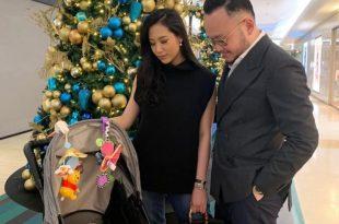 Samuel Wongso bersama keluarga kecilnya rayakan Natal bersama keluarga. Foto: Dok. Pribadi.
