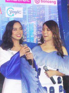 Finalis Indonesian Idol X Lyodra dan Tiara . Foto: Ist.
