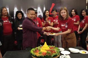 Syukruan jelang suting film Lantai 4, Rabu (12/2/2020) di Jakarta. Foto: Dudut Suhendra Putra.