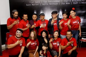 mereka yang terlibat di film Lantai4. Foto: Ki2.