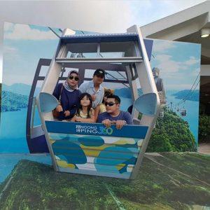 Ketum Pafindo Gion Prabowo bersama keluarga. Foto: ist.