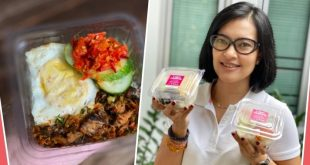 Lola Amaria sekarang bisnis kuliner. Foto: Ist.