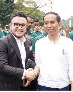 Samuel Wongso dan Presiden Jokowi. Foto: Ist.