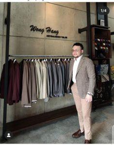 Perancang busana Samuel Wongso. Foto: Ist.