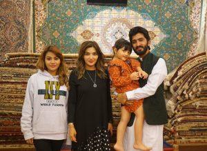 Atta bersama Ashanty dan keluarga. Foto; Dok. pribadi.