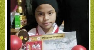 Azzura, Rebut Medali Perunggu Kejuaraan Karate Nasional Menpora RI Cup Virtual Championships 2020