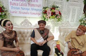 Monica Soraya Angels Baby, Fadly Padi dan suami Monica, Haryanto Duryat. Foto: Ibra.