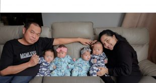 Rianto dan Tyas Ajak 4 Anak Kembarnya Jadi Youtuber