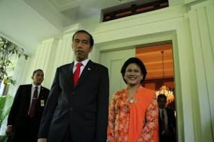 presiden Jokowi dan Ibu