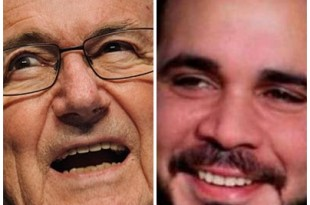 Blatter dan Ali. Foto: Ilustrasi